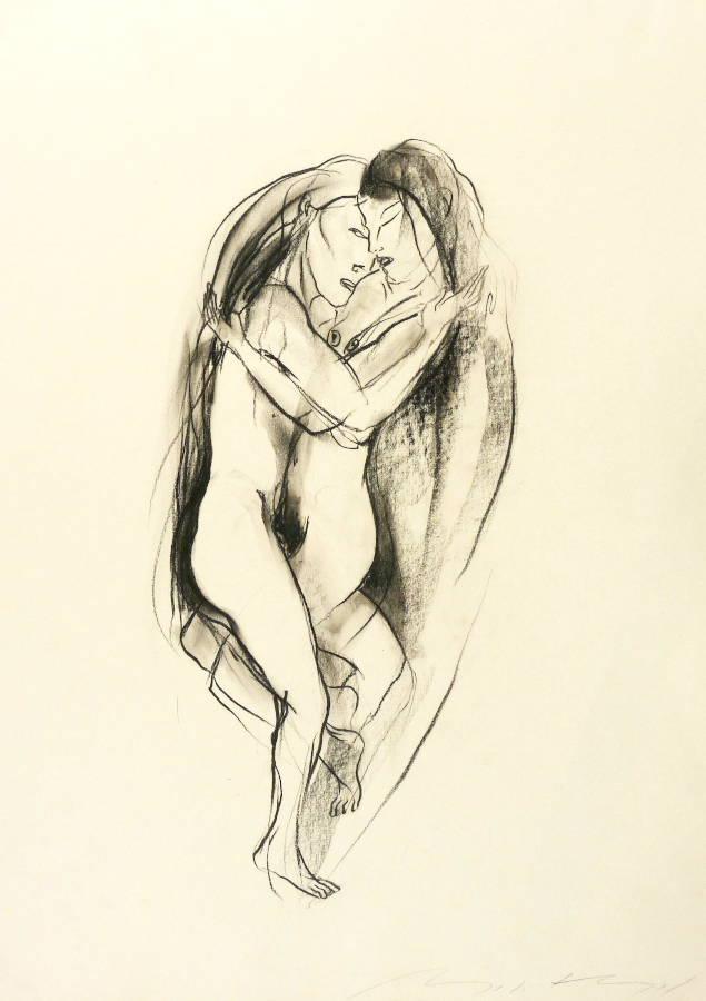prostituierte dresden umarmung zeichnung